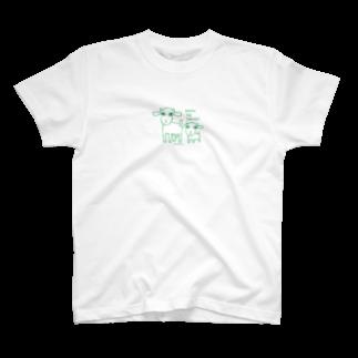 sunao_yoronのボクハヤギタベナイヨ T-shirts