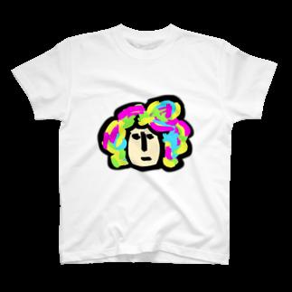 HANAGE WORKSのキャラ濃すぎピーポー T-shirts