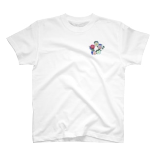 フラワーサークル T-shirts