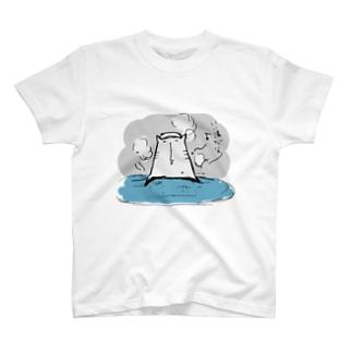温泉猫 T-shirts