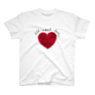愛がすべて! T-shirts