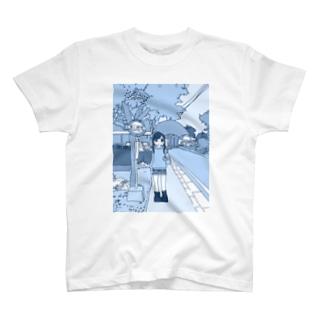 あの駅で待ってる T-shirts