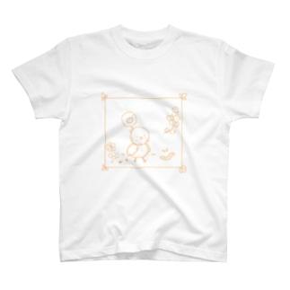 もふもふ。 T-shirts