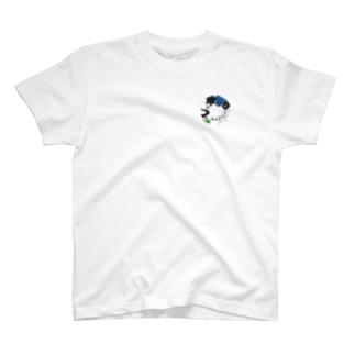 ググとビビと愉快な仲間たち T-shirts