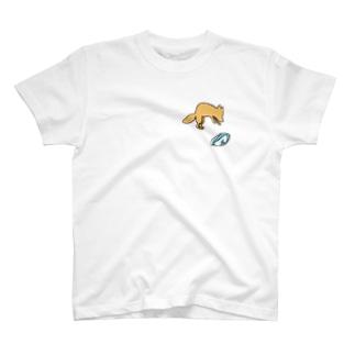 ジャッカルじゃなくてフォックス T-shirts