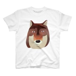 いっぴきおおかみ T-shirts