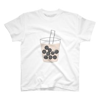 はらぐろあおむしinタピオカ T-shirts