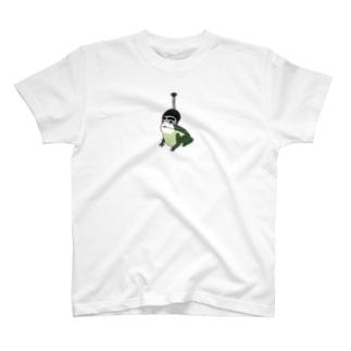 おバカなトノサマガエル T-shirts