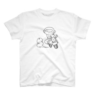 YuwarurE【ユワルレ】のわるさるさ T-shirts