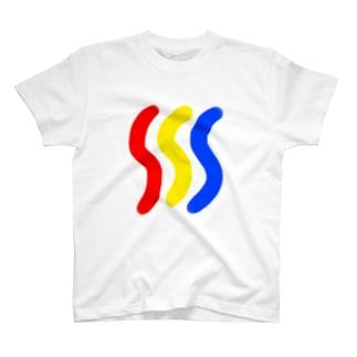 ナチュラル3原色 T-shirts