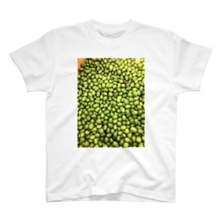 オリーブたくさん T-shirts