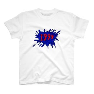 T-shirt with 1999 splash print T-Shirt