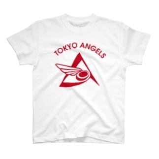 エンジェルス 白グッズ T-shirts