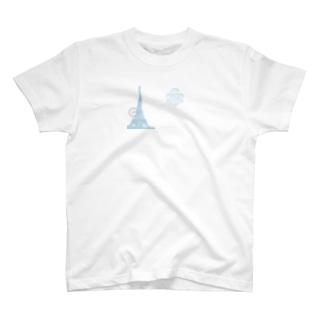 Paris_POSTCARD T-shirts