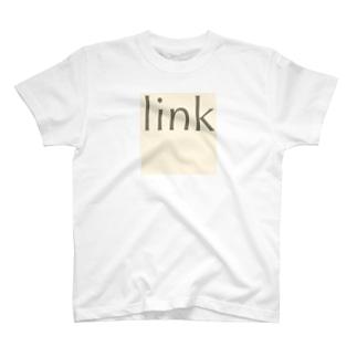ロゴ  文字 T-shirts