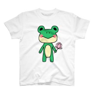 手持ちあにまる。(カエル) T-shirts