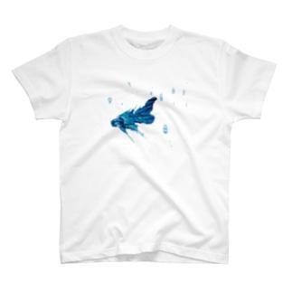 涼しげなおさかなくん T-shirts
