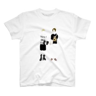 よく似た2人 T-shirts
