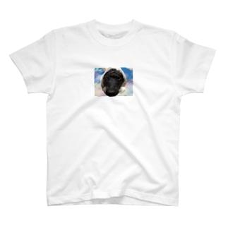 ほっかむり犬 T-shirts