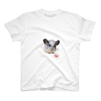 チンチラパイドのムー様 T-shirts
