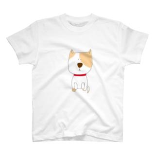 ひたすら待ついぬ T-shirts