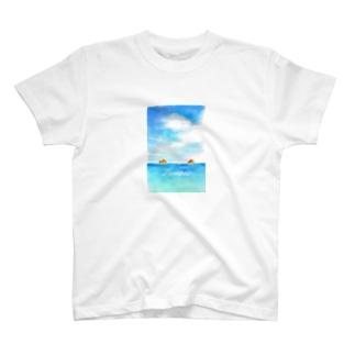 ラニカイビーチ T-shirts