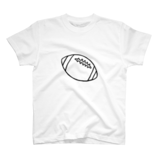 yt731024のラグビーボール T-shirts