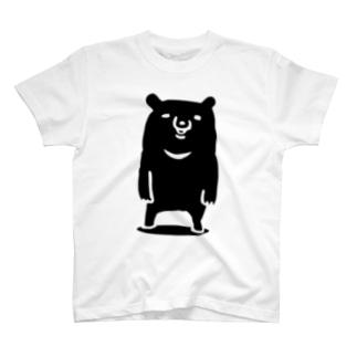 ツキノワグマ T-shirts