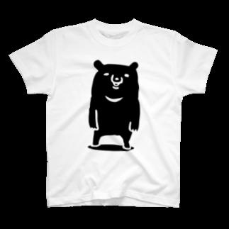 *Momoのツキノワグマ T-shirts
