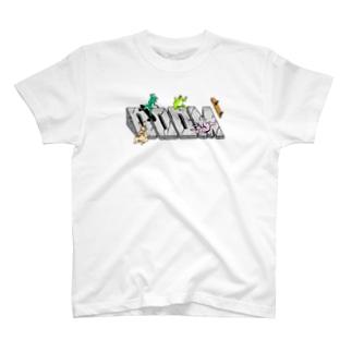 鳥獣戯画スケート Ver.2 T-shirts