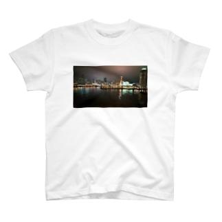 港の夜景 T-shirts