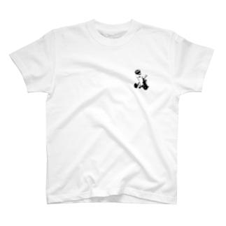 HAYASHIの三輪車べぃびぃ T-shirts
