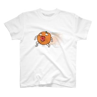 ダッシュ!オレンチンちゃん T-shirts