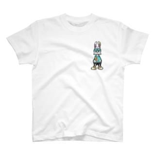 Pizzaラビちゃん T-shirts