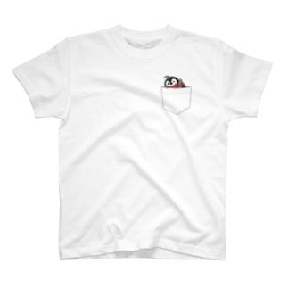 焼きペンポケットTシャツ T-shirts