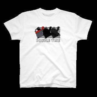 焼きパンショップのダブルタイム 焼きペン T-shirts