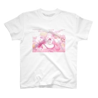 女の子の夢の中 T-shirts