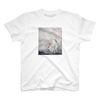 灰桜 T-shirts