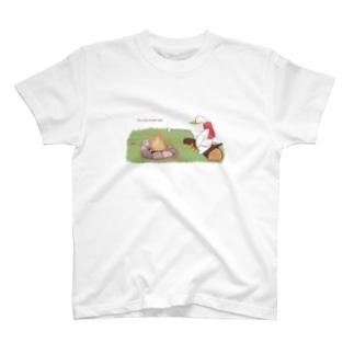 アヒルのキャンプ T-shirts