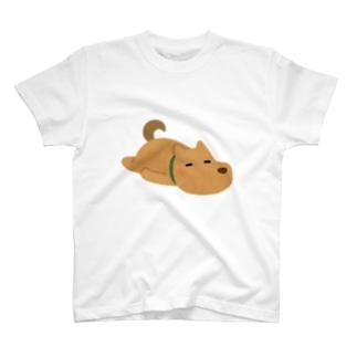 だらける犬。 T-shirts