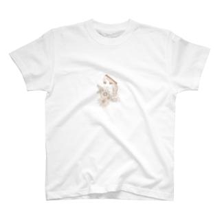 ひまわりの娘 T-shirts