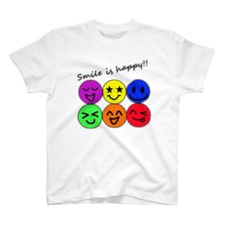 ハッピー&スマイル♬ T-shirts