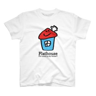 Flathouse/フラットハウスくん T-shirts