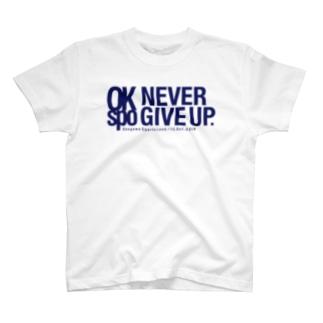 KRAZy×桶川スポーツランド AID Tee-Navy T-shirts