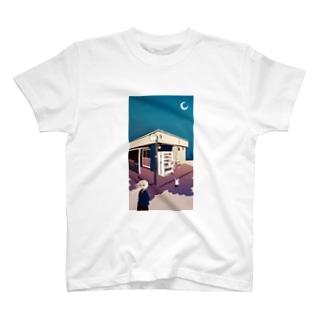 「最果てと不時着」 T-shirts
