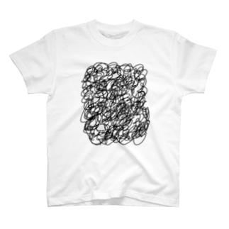 胸毛 T-shirts