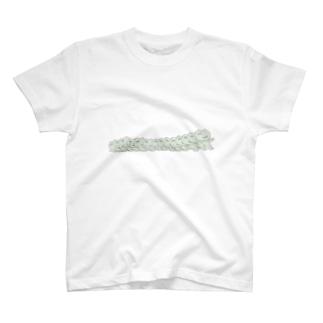 ニャンコロちゃんドミノ T-shirts
