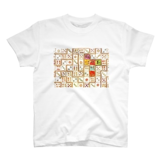 six face T-shirts