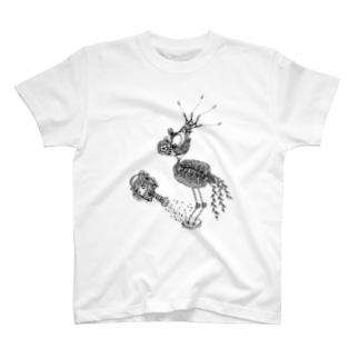 鉢植え鳥 T-shirts