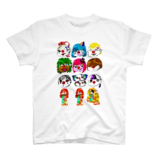 にんじん 創作ピエロ T-shirts